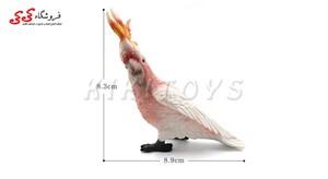 قیمت و خرید فیگور حیوانات طوطی کاکادو  fiqure of Parrot Cockatoo