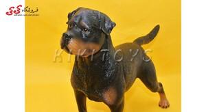خرید اینترنتی فیگور حیوانات سگ رتوایلر fiqure of dog