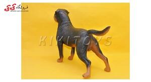 ماکت اسبا بازی سگ رتوایلر fiqure of dog