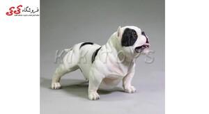 خرید اینترنتی فیگور حیوانات سگ بولداگ Fiqure of Dog