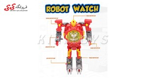ساعت مچی رباتیک تبدیل شونده- Transform Toys Robot Watch