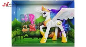 فیگور اسب تک  شاخ پونی  موزیکال -MY LITTLE PONY