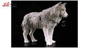 خرید اینترنتی فیگور حیوانات گرگ سایز متوسط-fiqure of wolf