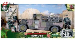 قیمت و خرید ماکت جیپ نظامی  برند ام اندسی M C TOY
