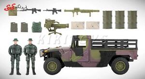 خرید اینترنتی ماکت جیپ نظامی  برند ام اندسی MILITARY CAMPSITE M C TOY