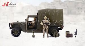 سفارش انلاین ماکت جیپ نظامی برند ام اندسی