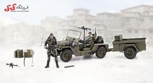 خرید اینترنتی ماکت جیپ نظامی  برند ام اندسی  M C TOY