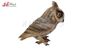 خرید اینترنتی فیگور حیوانات جغد شاخدار بزرگ-Flying Owl Animals Figure