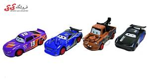 ست ماشین فلزی مک کویین 4 عددی  METAL CARS