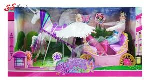 اسباب بازی شاهزاده و پرنسس با کالسکه Bettina
