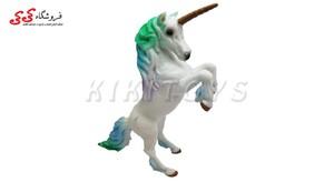 ساختنی فیگور حیوانات اسب تک شاخ یونیکورن Unicornis