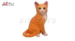 اسباب بازی فیگور حیوانات گربه نشسته fiquer of cat