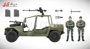 خرید انلاین ماکت جیپ نظامی برند ام اندسی