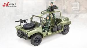 فروش فیگور  و ماکت جیپ نظامی برند ام اندسی MILITARY M C TOY