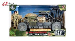 اسباب بازی ماکت جیپ نظامی برند ام اندسی  MILITARY  M C TOY