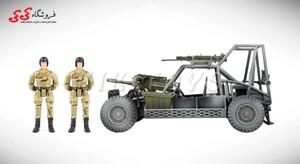 سرگرمی ماکت جیپ نظامی برند ام اندسی    M C TOY