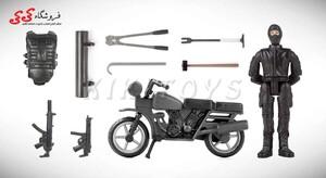 قیمت و خرید ماکت موتورسیکلت و سرباز با تجهیزات نظامی
