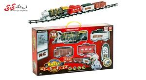 اسباب بازی قطار کلاسیک متوسط کنترلی دودزا -CLASSIC TRAIN
