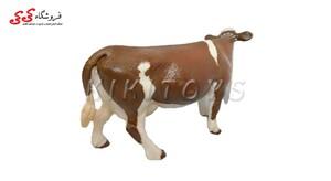 خرید اینترنتی فیگور حیوانات گاو قهوه ای