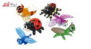 اسباب بازی فیگور حشرات گوشتی-ANIMAL WORLD