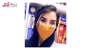 فروشگاه کی کی ماسک صورت سه بعدی پارچه ای سه لایه