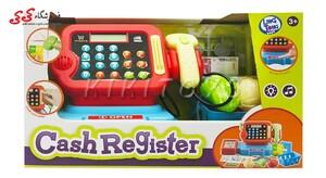 اسباب بازی ست صندوق فروشگاهی    CASH REGISTER