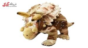 عروسک دایناسور تریسراتوپس پولیشی- Triceratops Dinosaur