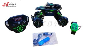 خرید اینترنتی اسباب بازی ماشین کنترلی آفرود و دریفت حرفه ای-SUPER DOUBLE FLIP