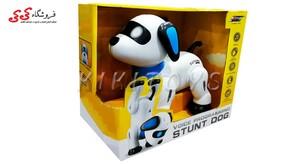 سگ کنترلی رباتیک زومر اسباب بازی -STUNT  DOG K21A