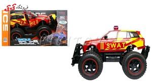 خرید اینترنتی اسباب بازی ماشین کنترلی آفرودی جیپ پلیس-POLICE CAR