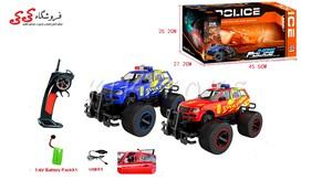 اسباب بازی ماشین کنترلی آفرودی جیپ پلیس