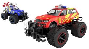 سرگرمی ماشین کنترلی آفرودی جیپ پلیس POLICE CAR