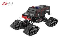 قیمت و خرید اسباب بازی ماشین کنترلی آفرودی چرخ زنجیری-LEADER CAR
