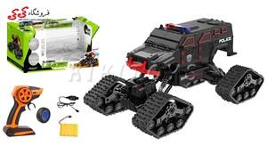 سرگرمی اسباب بازی ماشین کنترلی آفرودی چرخ زنجیری-LEADER CAR