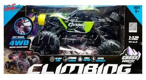 سرگرمی اسباب بازی ماشین کنترلی آفرودی چهار چرخ-CLIMBING CAR
