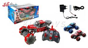 قیمت و خرید ماشین کنترلی آفرودی چرخ کپسولی 360 درجه اسباب بازی-DRIFT CAR