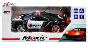 قیمت و خرید ماشین پلیس کنترلی بوگاتی -MOXIE RADIO CONTROL CAR POLICE