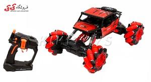 قیمت و خرید ماشین کنترلی آفرودی چرخ کپسولی 360 درجه اسباب بازی STUNT DRIFT CAR