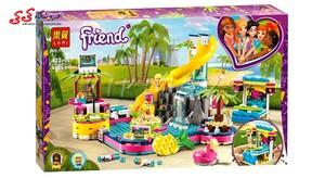 بازی و سرگرمی لگو فرندز دخترانه پارک بازی