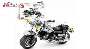 اسباب بازی لگو ماکت موتور یاماها برند اس وای SEMBO BLOCK 701110