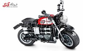 ساختنی لگو ماکت موتور تریومف Triumph برند اس وای SEMBO BLOCK 701126