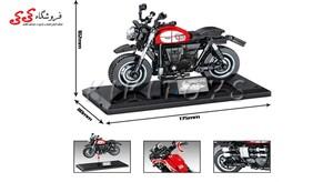 خرید اینترنتی لگو ماکت موتور تریومف Triumph برند اس وای SEMBO BLOCK 701126