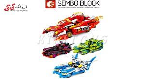 سرگرمی لگو ماشین قهرمانان  SEMBO BLOCK 607203