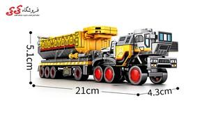 ساختنی لگو ماشین سنگین ترابری سمبو بلاک 107002