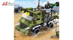 سرگرمی لگو ماشین موشک انداز جنگی سمبو بلاک SEMBO BLOCK 105476
