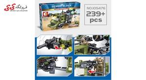 اسباب بازی لگو ماشین موشک انداز جنگی سمبو بلاک SEMBO BLOCK 105476