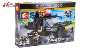 اسباب بازی لگو ماشین نیروی ویژه SEMBO BLOCK Military Lego