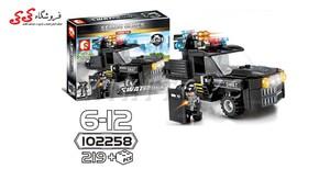 سرگرمی و بازی فکری لگو ماشین نیروی ویژه SEMBO BLOCK Military Lego