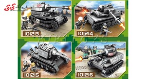 ساختنی لگو تانک جنگی بزرگ ست ترکیبی 4 عددی سمبو بلاک SEMBO BLOCK