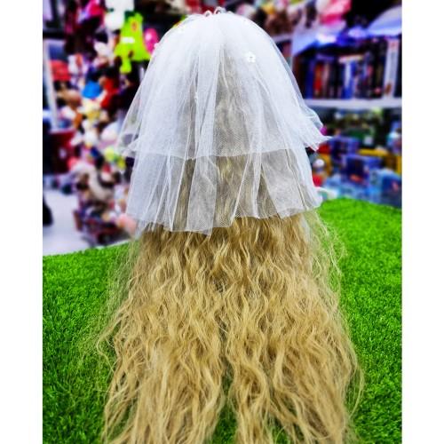 عروسک روسی عروس دست دوز سفید مدل کی کی 3  KIKI DOLLS